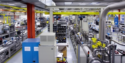 Endress+Hauser Flow in Reinach, Switzerland, production