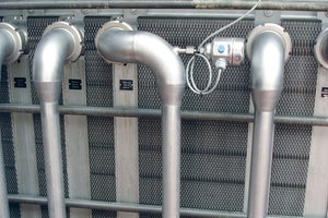 Temperature sensors in pasteurization