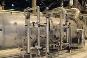 Steam/Boiler drum and pre-heaters