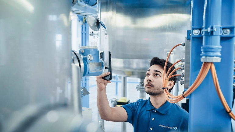 At Endress+Hauser a growing number of patents concern developments for Industry 4.0.